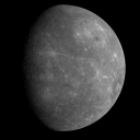 Mercury-Credit: NASA/Johns Hopkins University Applied Physics Laboratory/Carnegie Institution of Washington